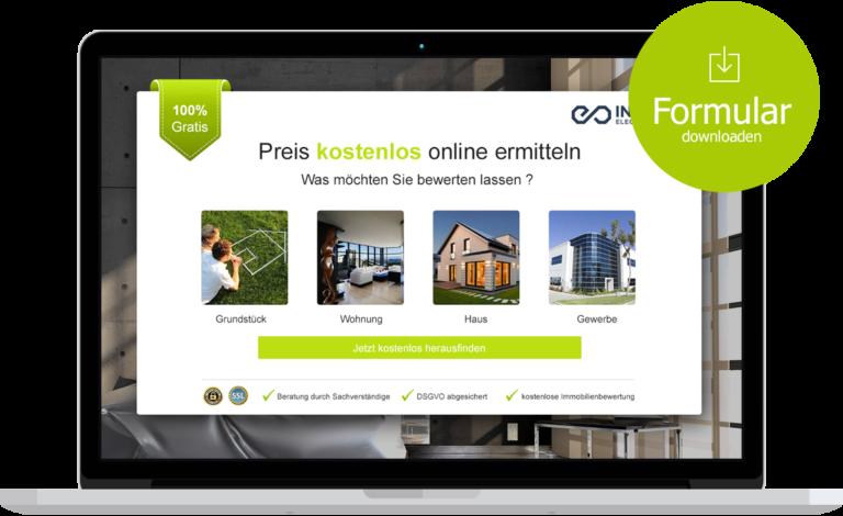 Formular für Immobilienmakler